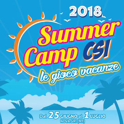 CSI summer camp 2018