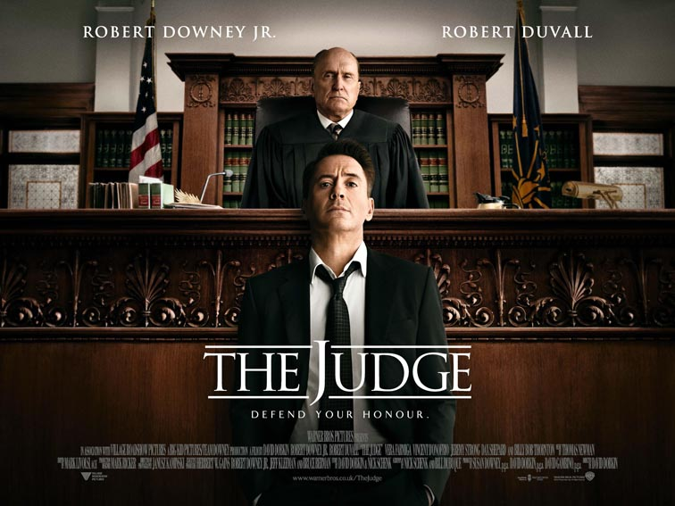 The Judge locandina